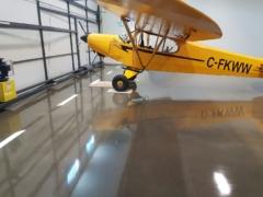 Airplane Hangar Front