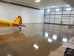 Airplane Hangar Back