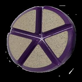 Ceramic 5 Pie Velcro Backed