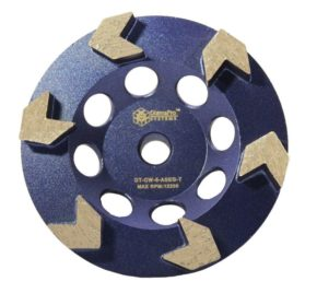 "5"" Arrow Seg Cup Wheel, 6 seg"