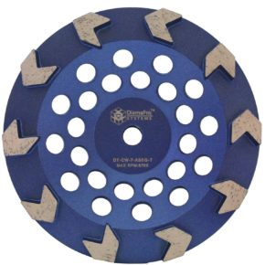 "7"" Arrow Seg Cup Wheel"