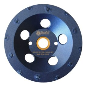 "5"" 12 Segment Chip PCD Cup Wheel"