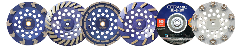 7 inch cupwheels